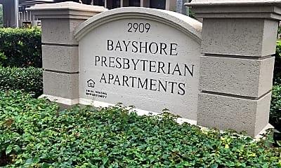 Bayshore Presbyterian apartments, 1