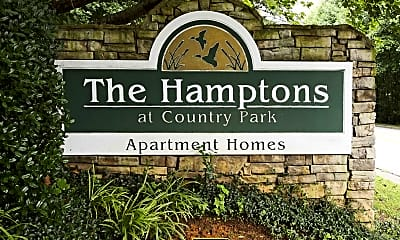 Community Signage, The Hamptons At Country Park, 2