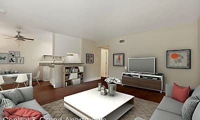 Living Room, 1704 Central Ave, 0