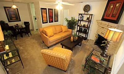 Living Room, 11707 Vance Jackson, 1