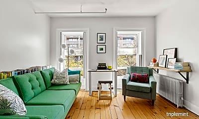 Living Room, 26 St James Pl 3-F, 1