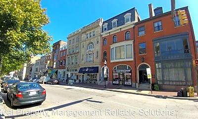 Building, 407 N Charles St, 1