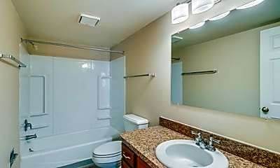 Bathroom, Sandstone Creek Apartments, 2