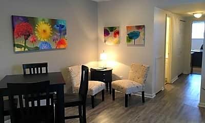 Dining Room, Manayunk Garden Apartments, 1