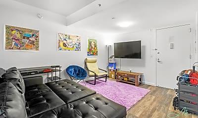 Living Room, 229 Chrystie St 825, 1