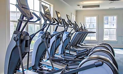 Fitness Weight Room, Stoneridge Farms at the Hunt Club, 2