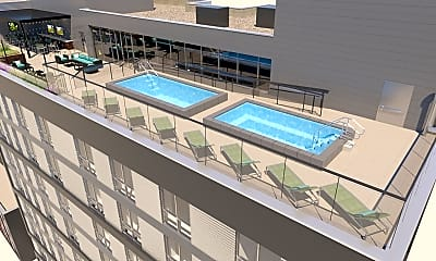 Pool, 959 Franklin-Per Bed Lease, 2