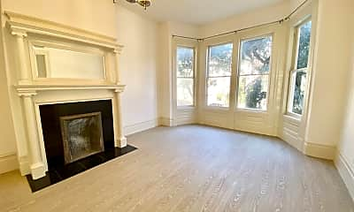 Living Room, 937 Hayes St, 1