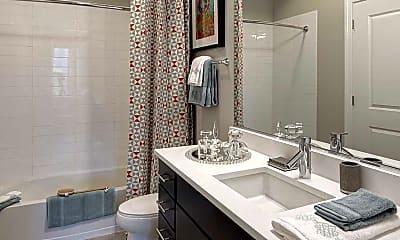 Bathroom, AMLI Lofts, 2