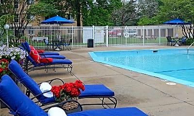 Pool, Cherry Court Apartments, 0
