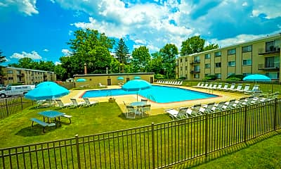 Pool, Arbor Lane, 2