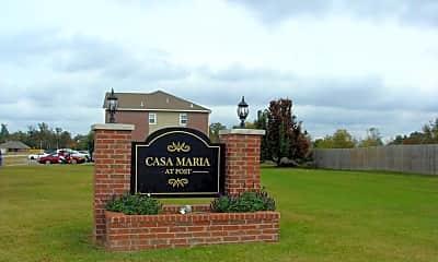 Building, Casa Maria at Post, 2