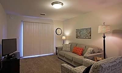 Living Room, Dakota Pointe Apartments, 1