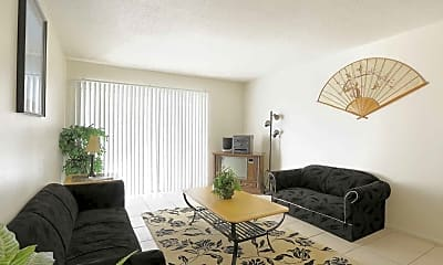 Living Room, Hibiscus Place, 1