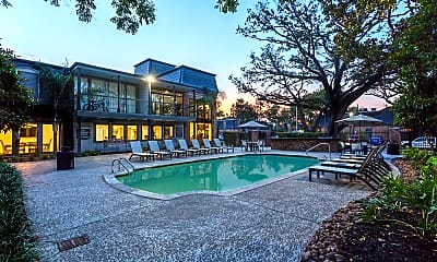 Pool, Chateaux Dijon Apartments, 0