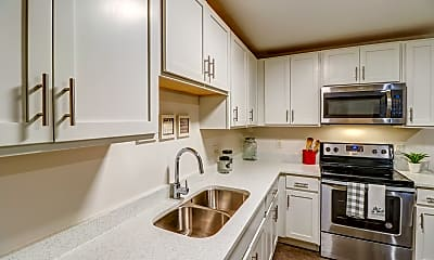 Kitchen, University Center Apartments-Per Bed Leases, 0