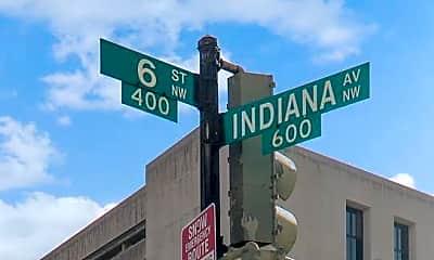 Community Signage, 601 Pennsylvania Avenue NW 1004N, 2