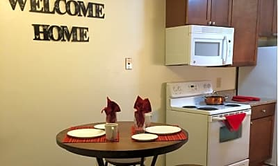 Kitchen, Candlewood Apartments, 1