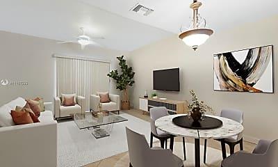 Living Room, 2763 NE 15th St, 1