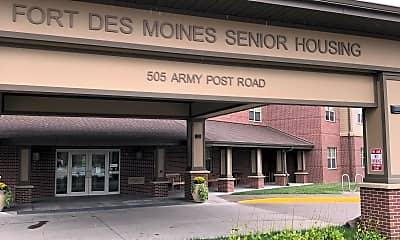 Fort Des Moines Senior Housing, 1
