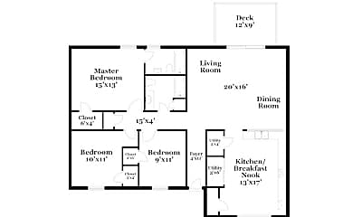 Building, 5220 Plume Dr, 1