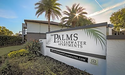 Community Signage, The Palms of Clearwater, 2
