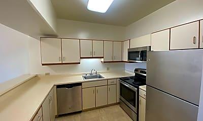Kitchen, 6363 Christie Ave #1601, 1