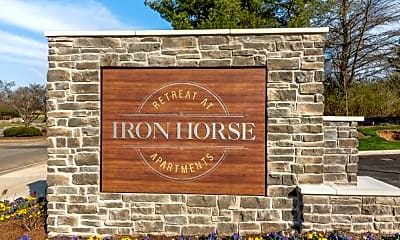 Community Signage, The Retreat at Iron Horse Apartments, 0