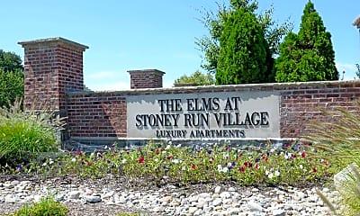 Community Signage, The Elms At Stoney Run Village, 2