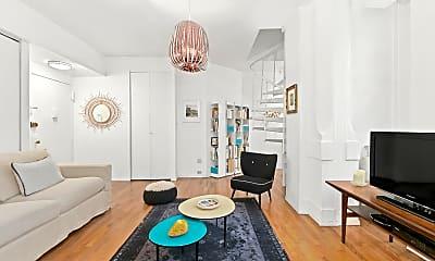 Living Room, 4 Lexington Ave 8-F, 1