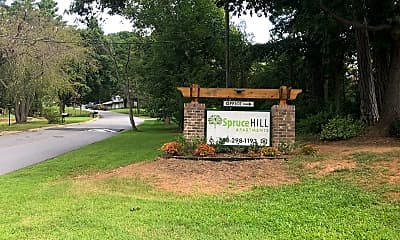Spruce Hill Apartments, 1