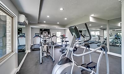 Fitness Weight Room, The District at Forestville, 2
