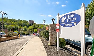 Community Signage, Clifton Colony Apartments, 2