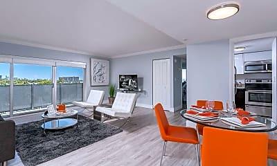 Dining Room, Bayshore Grove Apartments, 1