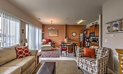 Living Room, Cape Cod Village, 2