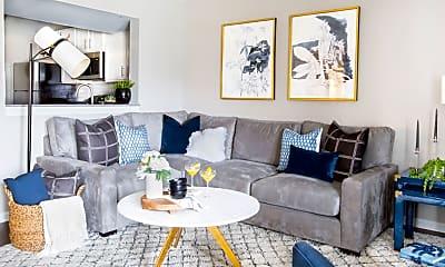 Living Room, Trophy Club At Bellgrade, 1