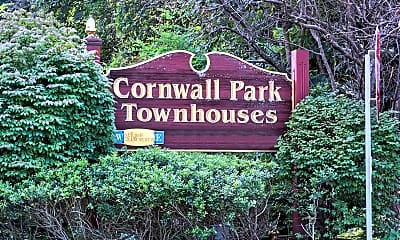 Community Signage, Cornwall Park Townhouses, 2