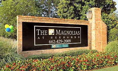 Community Signage, Magnolias At Hernando, 2