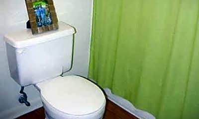 Bathroom, Mark II Apartments, 2