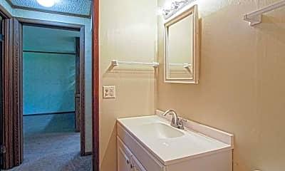 Bathroom, Chelsea Court Apartments, 2