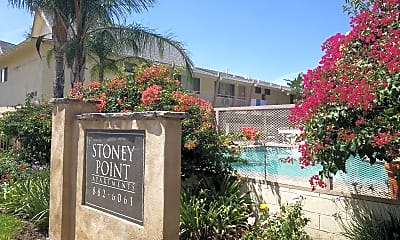 Stoney Point Apartments (formerly Canoga Avenue Apts.), 2