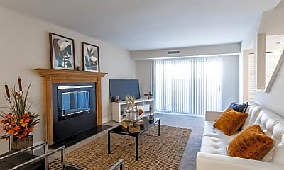 Living Room, Townhomes @ Gateway, 2