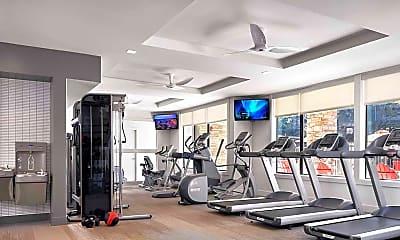 Fitness Weight Room, AMLI Covered Bridge, 0