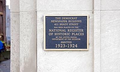 Community Signage, Democrat Lofts, 0