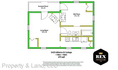 Patio / Deck, 2425 Williams St, 2