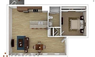 Living Room, 1430 University Ave, 2