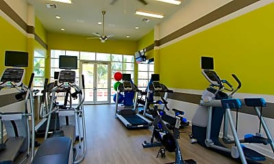 Fitness Weight Room, Springs at Six Mile Cypress, 1