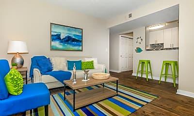 Living Room, The Bentley at Marietta, 0