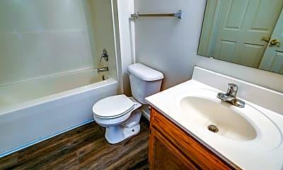 Bathroom, Pine Glen Apartments, 2
