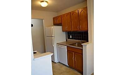Kitchen, Forest Village Apartments, 2